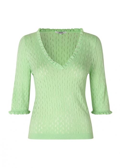 Chantara knit PASTEL GREEN