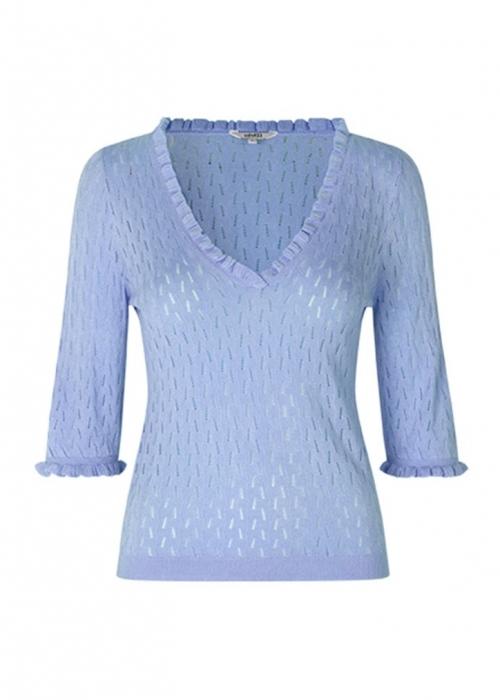 Chantara knit BLUE HERON