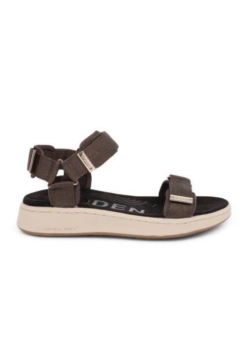 Line sandal BROWN