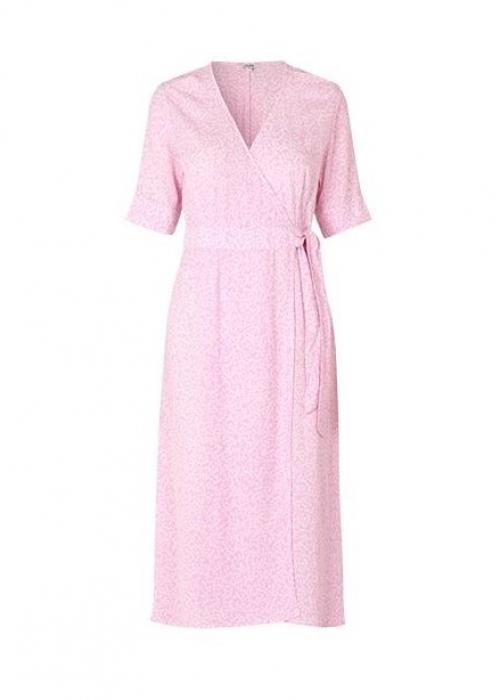 Shubie wrap dress PINK