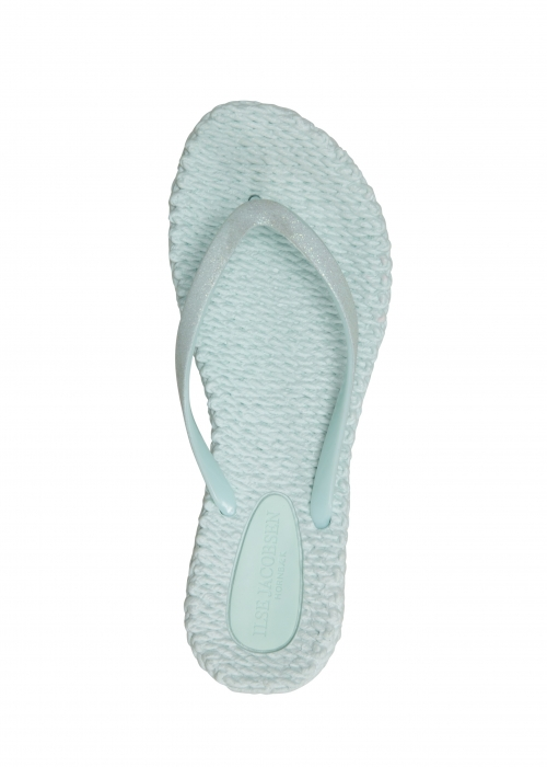 Cheerful glitter Flip flops 666 MINT
