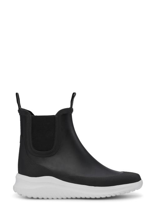 Short rubber boots BLACK