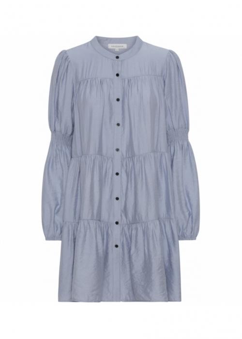 Sanna solid dress BLUE