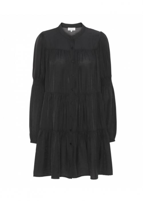 Sanna solid dress BLACK