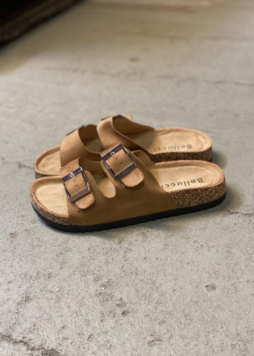 Sunshine soft sandal CAMEL