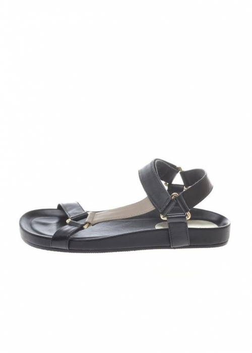 Peace multi sandal BLACK MULTI