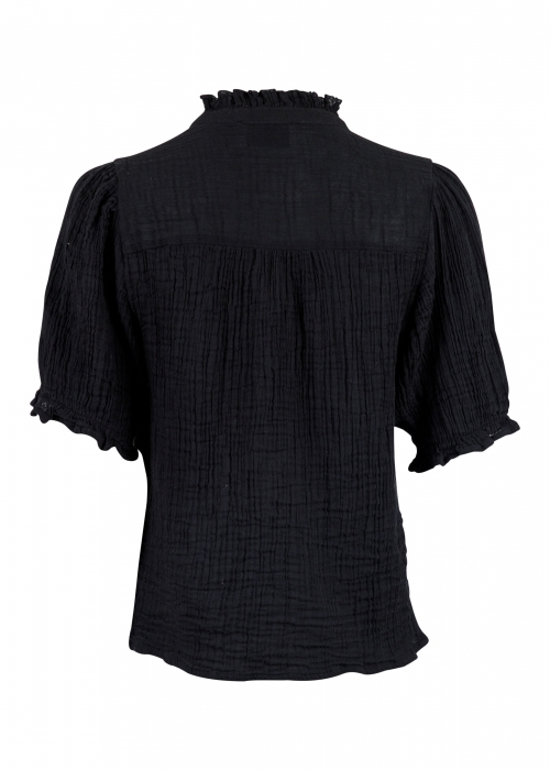 Odesa gauze blouse BLACK