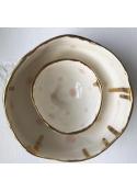 Porcelæns skål 7 cm. LYSERØD