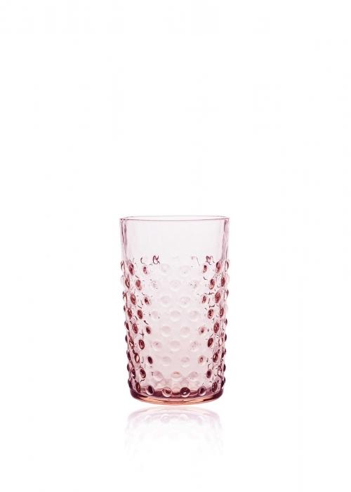 Hobnail drikkeglas ROSA