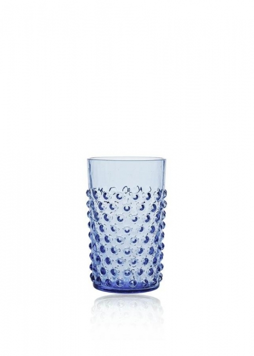 Hobnail drikkeglas LIGHT BLUE