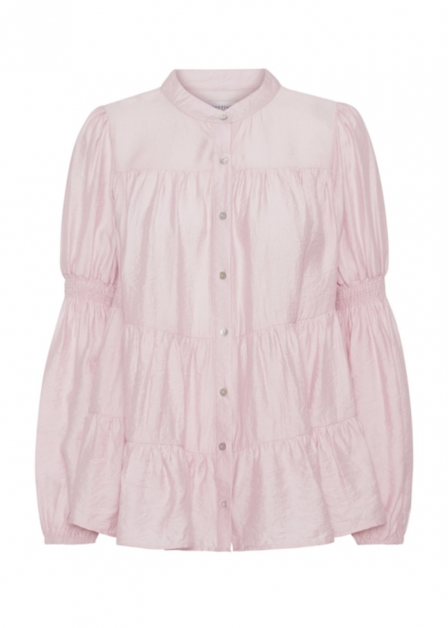 Sanna solid shirt ROSE