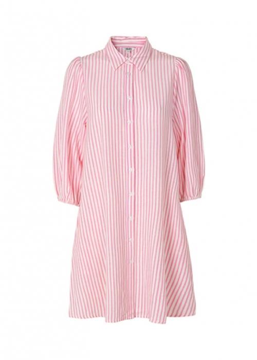 Taimi dress PINK STRIPE