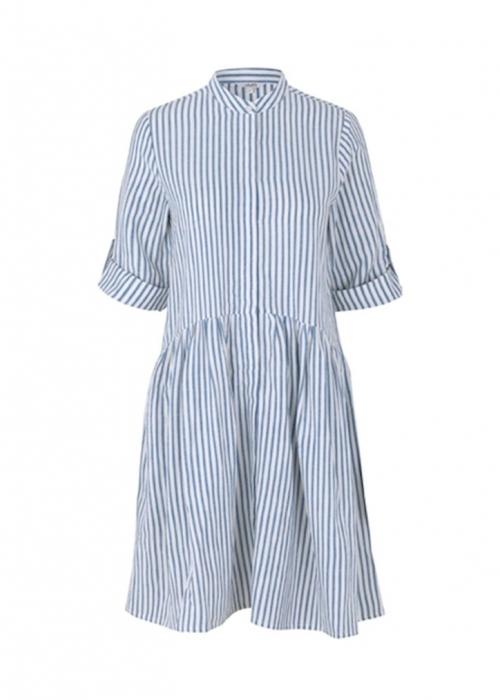 Albana dress BLUE STRIPE