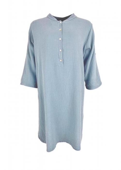 Dune long shirt LIGHT BLUE
