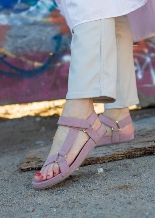 Peace suede sandal ROSA