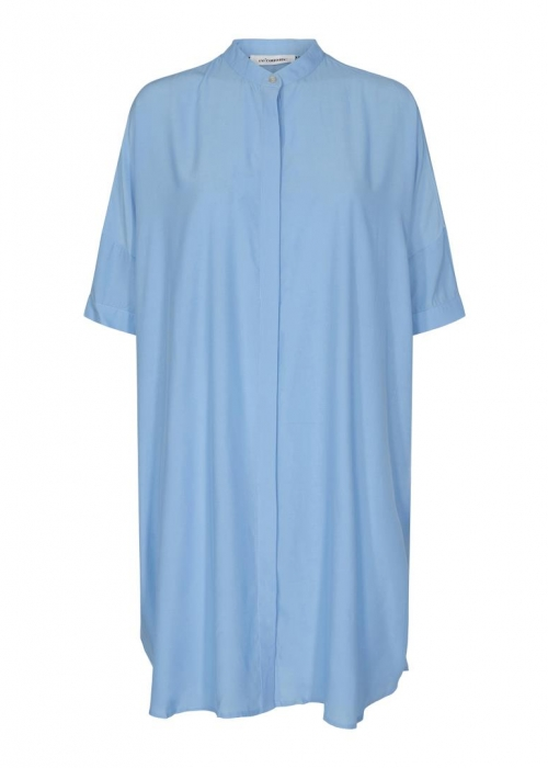Sunrise tunic shirt PALE BLUE