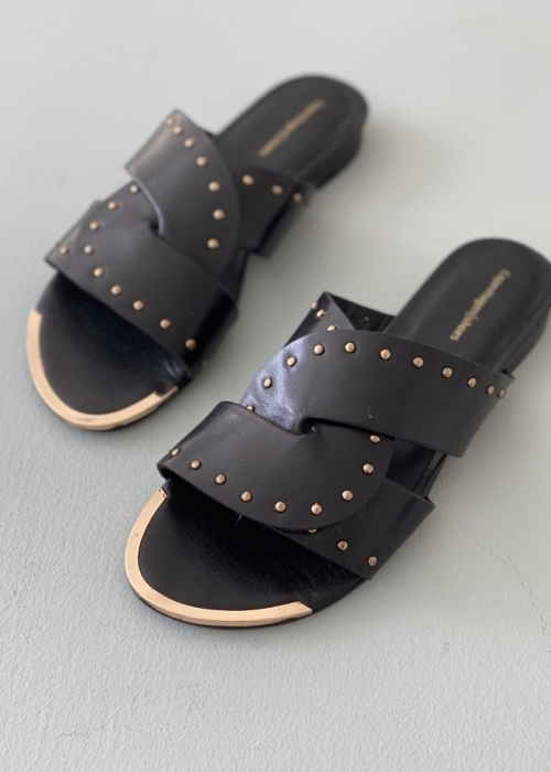 Spring time sandal BLACK