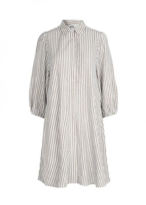 Taimi dress SAND STRIPE