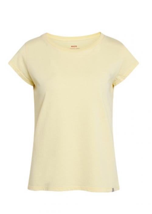 Organic favorite teasy t-shirt PALE BANANA