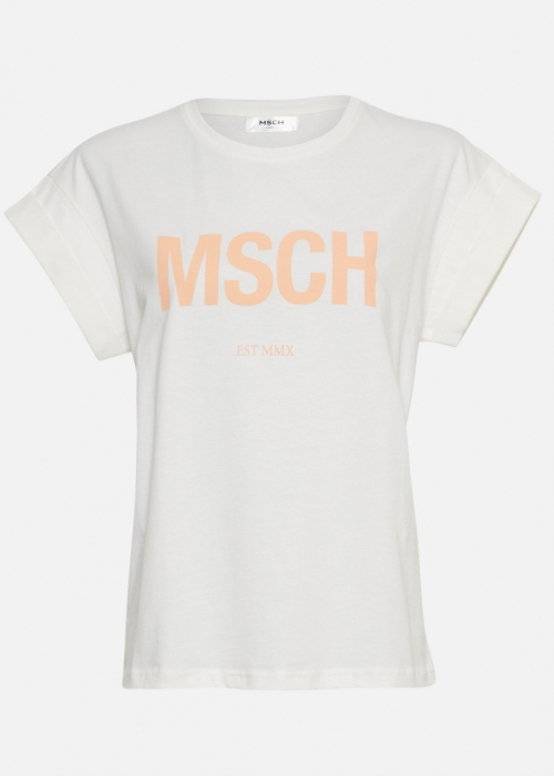 Alva MSCH STD Seasonal tee EGRET/C SANDS