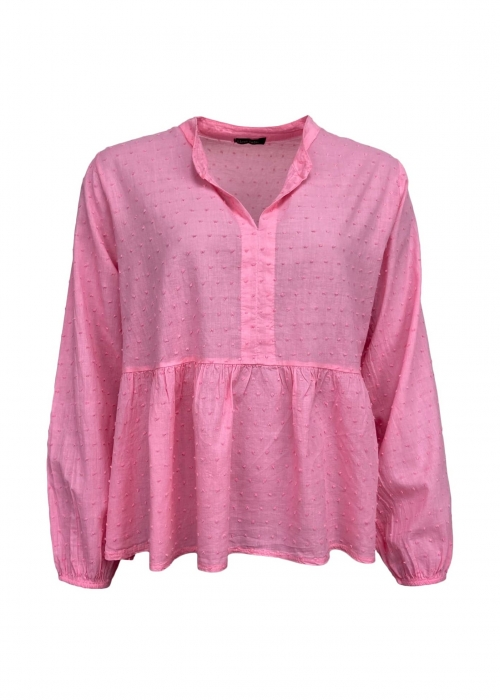 Frigg cotton blouse CANDY PINK