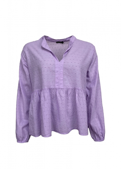 Frigg cotton blouse LAVENDER