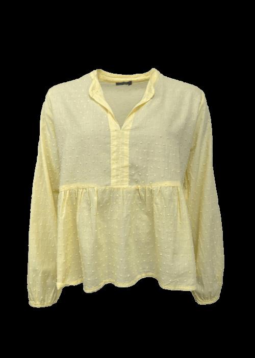 Frigg cotton blouse LT. YELLOW