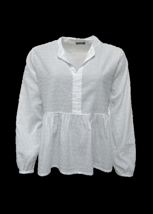 Frigg cotton blouse WHITE