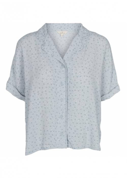 Nella SS Shirt CELESTIAL BLUE