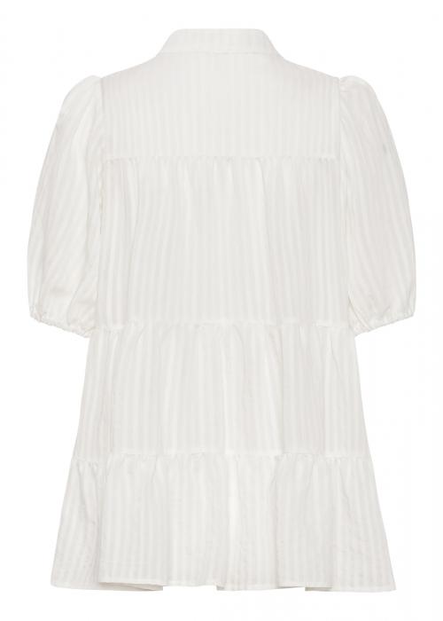 Sanna SS stripe shirt WHITE