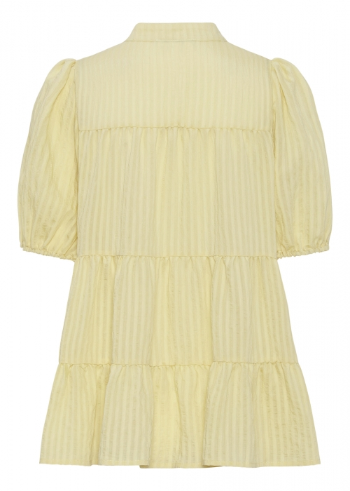 Sanna SS stripe shirt LIGHT YELLOW