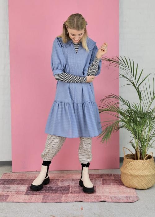 Dagny midi dress BLUE