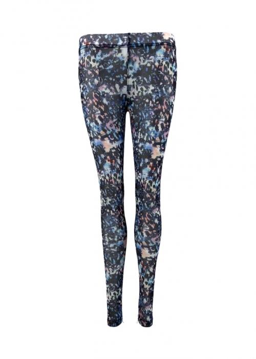 Florence mesh leggings BLACK BLUE