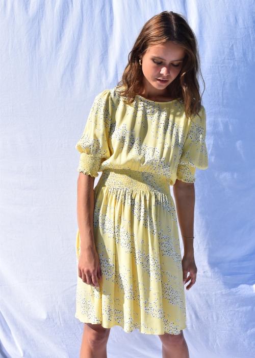 Kiyan dress YELLOW PRINT