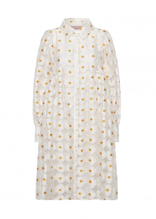 Erica dress WHITE