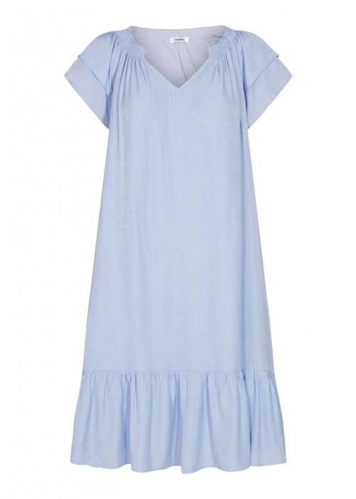 Sunrise cropped dress LIGHT BLUE