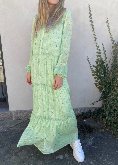Nobis sparkle dress LIGHT GREEN Levering slut maj