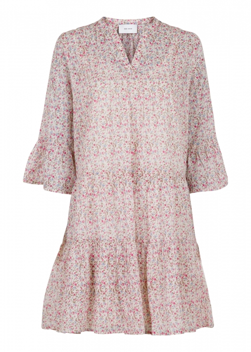 Gunvor Peony Flower Dress OFF WHITE