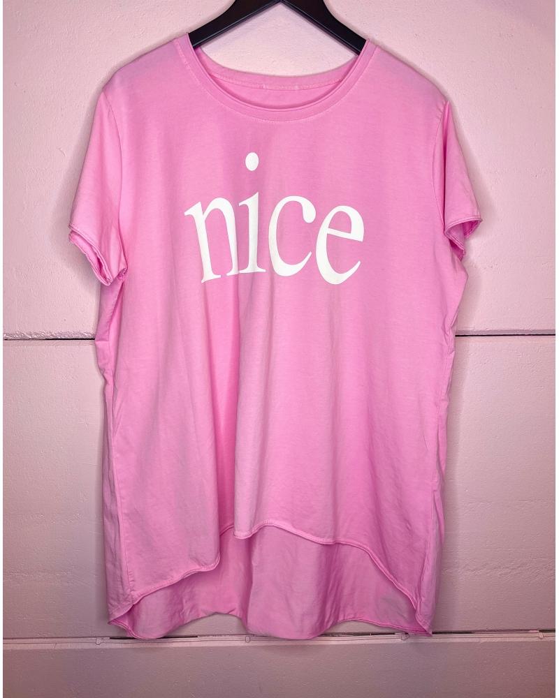 Nice loose tee PINK