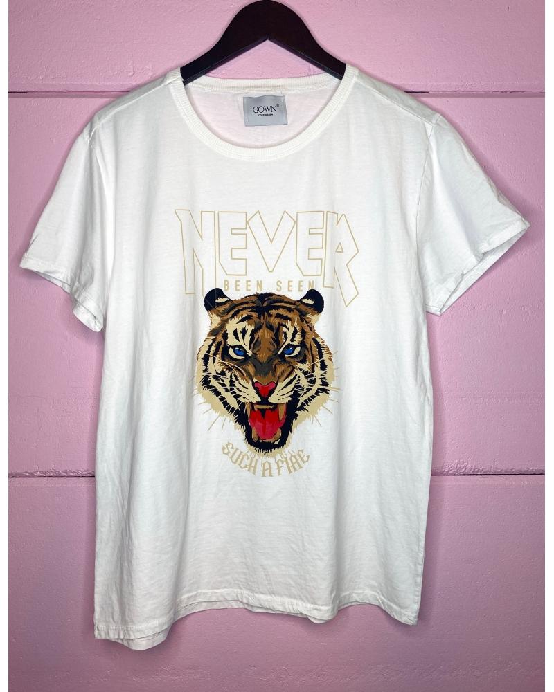 Tiger tee WHITE
