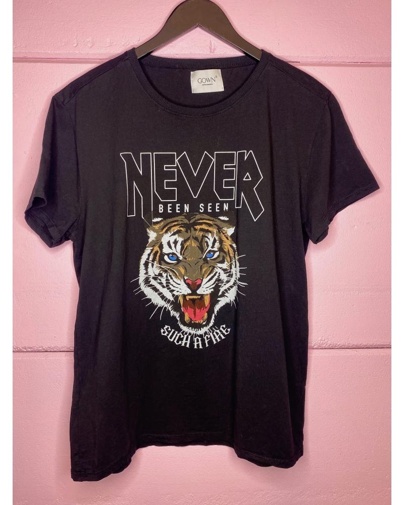 Tiger tee BLACK