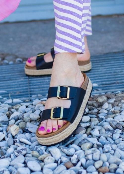 Forever sandal BLACK
