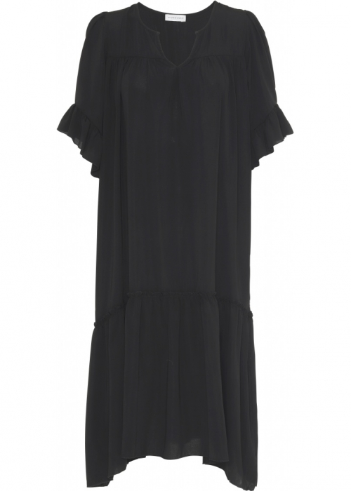 Thyra Long dress BLACK