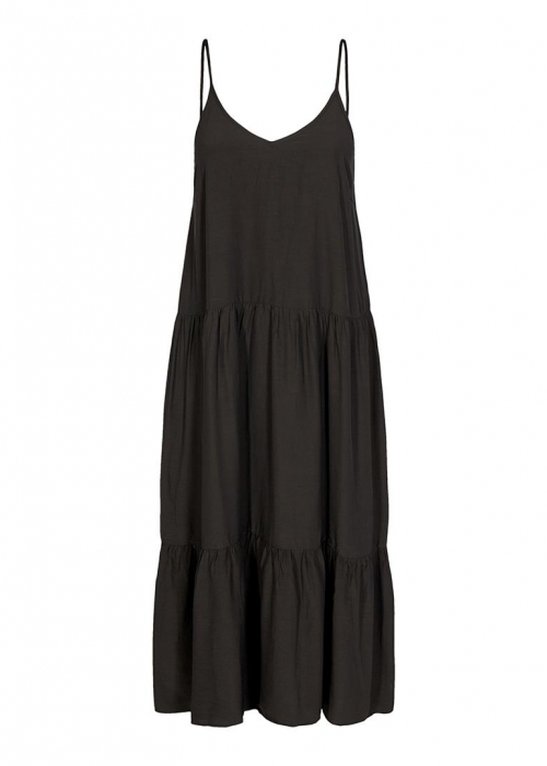 New Gipsy Strap Dress BLACK