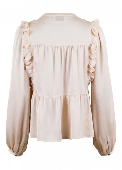 Celia solid blouse CREME