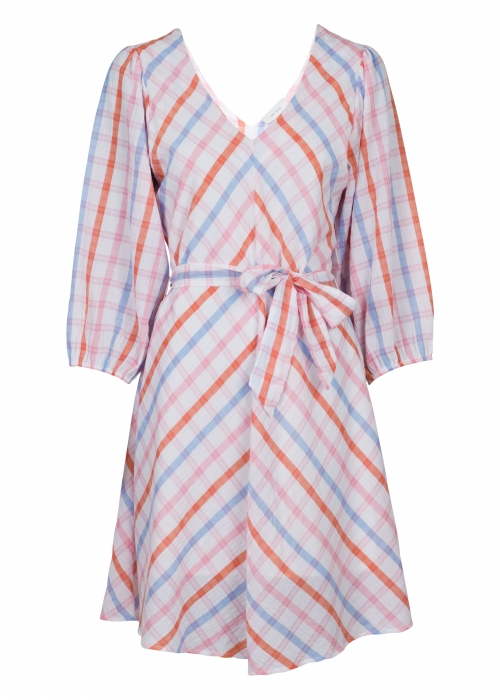 Manua Candy Stripe Dress LIGHT PINK