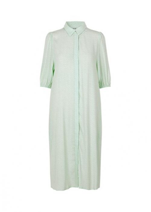 Jumelle dress ULYSSES PRINT GREEN