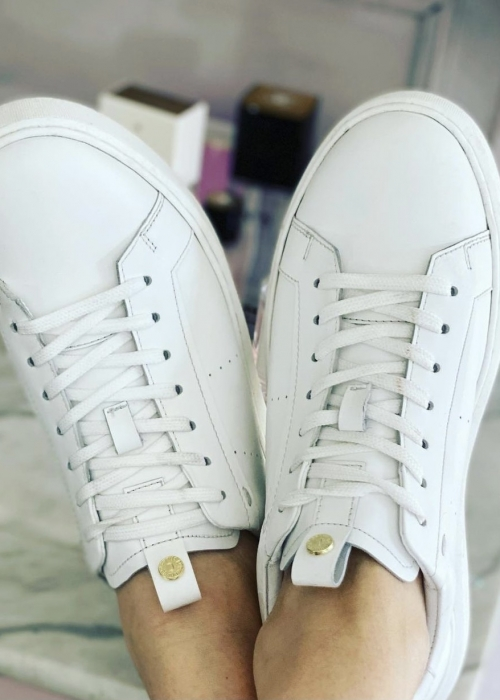 Keep Going Sneakers WHITE