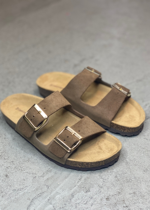 Valerie sandal BROWN COMBI