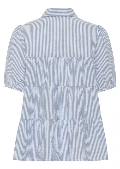 Melina SS shirt BLUE STRIPE